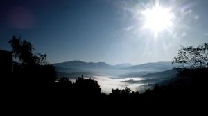 DIGA DELL'ALENTO Nebbia mattutina