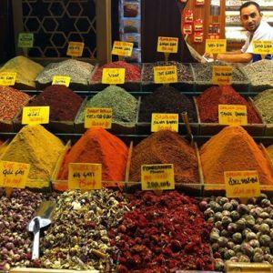 Mercato di spezie ad Istanbul